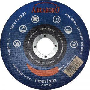 Abraboro ABRABORO CHILI blue edition fémvágó korong, inox, 10db-os